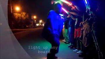 Skateboard Lights Longboard Lights Third Kind<sup>®</sup>