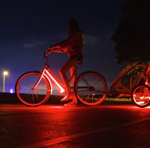 red bike light by third kind