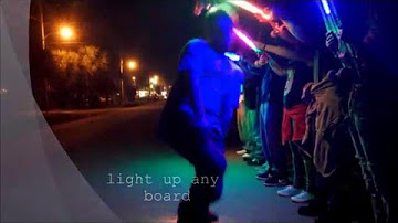Skateboard Lights Longboard Lights Third Kind<sup>®</sup>